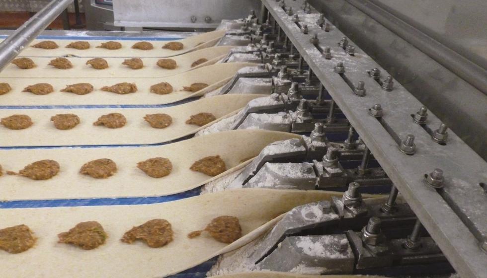 Una planta de productos de alimentación ahorra 52.000 euros después de cambiar a rodamientos Molded-Oil